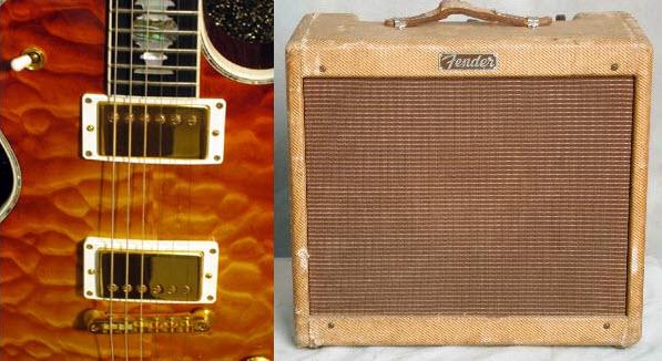 Gibson Ultima and Princeton
