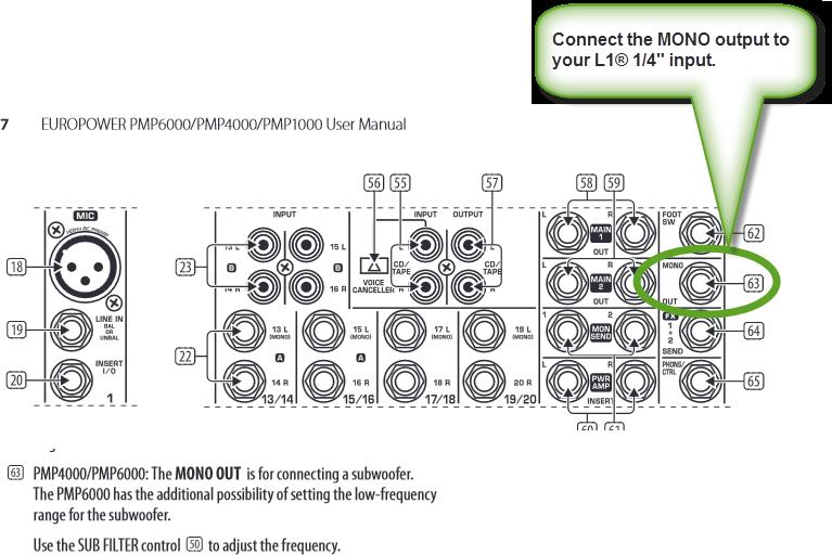 mixer    behringer    europower    pmp6000