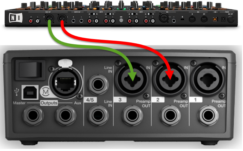 T1 Tonematch 174 Audio Engine Stereo Output To Two F1