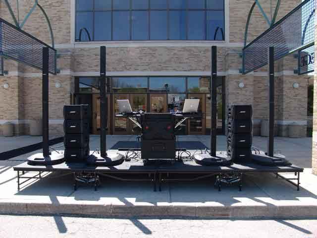 Live Or Prerecorded Stereo And Mono Bose Portable Pa