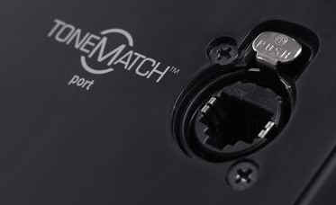 ToneMatch® Port on the Model II close up