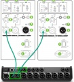 Mackie SRM 350 input from ToneMatch Mixer XLR.jpg