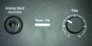 L1® Model 1S analog input