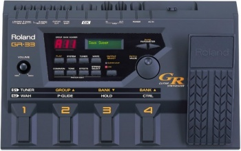 Roland Gr 33 Guitar Synthesizer Review Bose Pro Portable