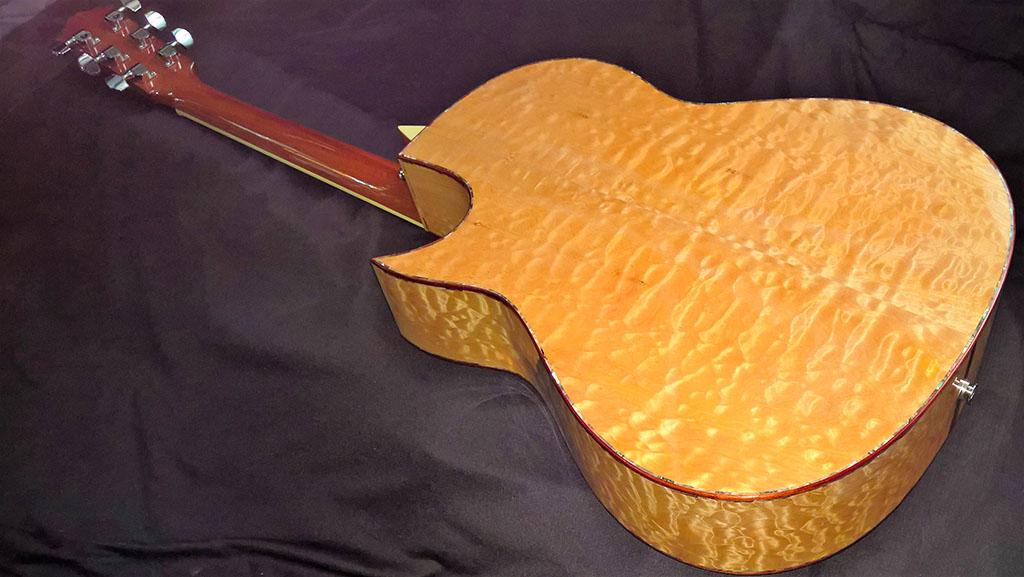 morgan acoustic guitar